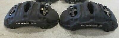 PORSCHE CAYENNE 958 FRONT LEFT And RIGHT BREMBO BRAKE CALIPERS OEM SET