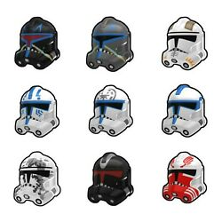 Kyпить  Arealight Custom P2 Clone TROOPER Helmet for Star Wars Minifigs -Pick Color! на еВаy.соm