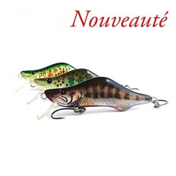 Leurre Coulant Sico Lure Sico-First - 5.3Cm 5gr Made In France