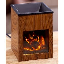 Kyпить Fireplace Tart Warmer - Small Electric Fireplace for Melting Wax Tarts на еВаy.соm