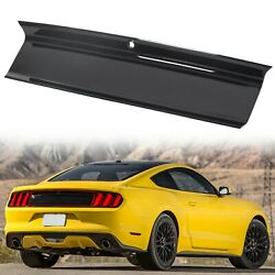 Kyпить Gloss Black For 2015-2020 Ford Mustang GT Rear Trunk Decklid Panel Trim Cover на еВаy.соm