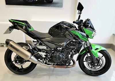 2019 Kawasaki Z400 With only 1,414 miles
