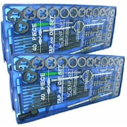 Kyпить TAP AND DIE Set 80 piece SAE & METRIC w/Case Screw Extractor Remover Chasing NEW на еВаy.соm