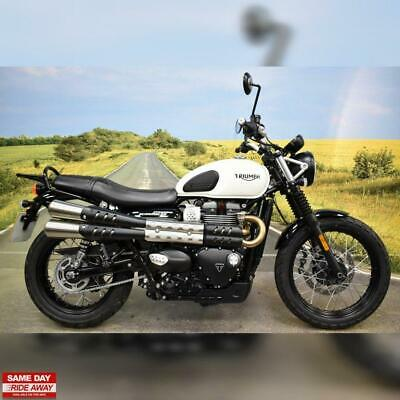 **  Triumph Street Scrambler 2019, 1 Owner, 500 Miles, Just Serviced **