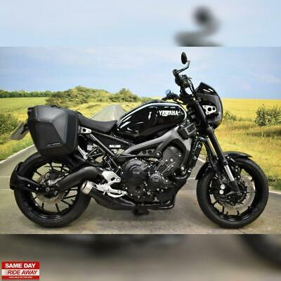 ** Yamaha XSR 900 ABS 2018, 2 Owners, Panniers, GB Racing Covers **