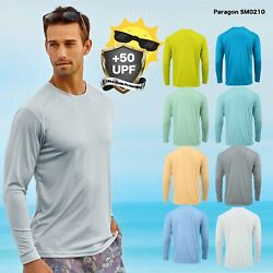 Kyпить Paragon Adult Long Sleeve UPF 50+ T-Shirt Fishing Boat UV Protection SM0210 на еВаy.соm