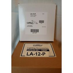 6 Pack CONTECH LA-12-P Track Lighting 3-Way Joiner Feeds-New-Multiple Available