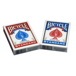 Kyпить 2 Decks of Bicycle Playing Cards Standard Face, 1 Red & 1 Blue, New & Sealed на еВаy.соm