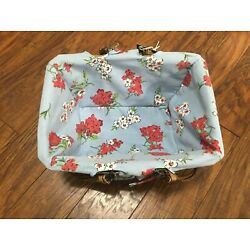 The Pioneer Woman Vintage Rose Willow Wicker Picnic Basket