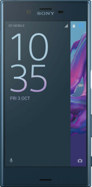 AllemagneSony Xperia Xz Forest Bleu Android , Neuf Autres