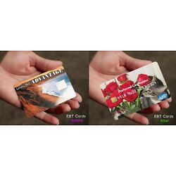 EBT Card Covers, Snap Card Covers, Food Stamp Privacy - Maintain anonymity