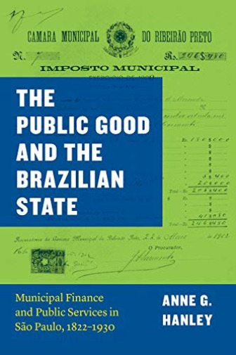 Royaume-UniAnne G. Hanley-Public Good And The  State BOOKH NEUF