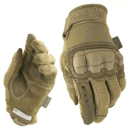 img-Mechanix M-Pact 3 Knuckle Gloves Mens Tactical Military Army Airsoft Coyote