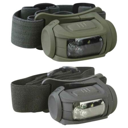 img-Kombat Predator II Head Torch Military Army Cadet Camping LED Headlamp Light