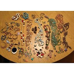 Kyпить Broken Or Project Jewelry Lot Crystal Bead Stone Turquoise Earrings Necklaces на еВаy.соm