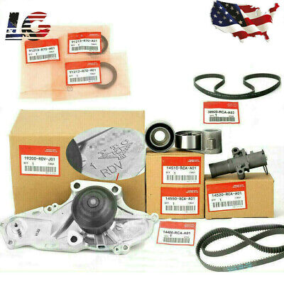 NEW Timing Belt & Water Pump Kit For Accord Odyssey Acura MDX V6 High Quality