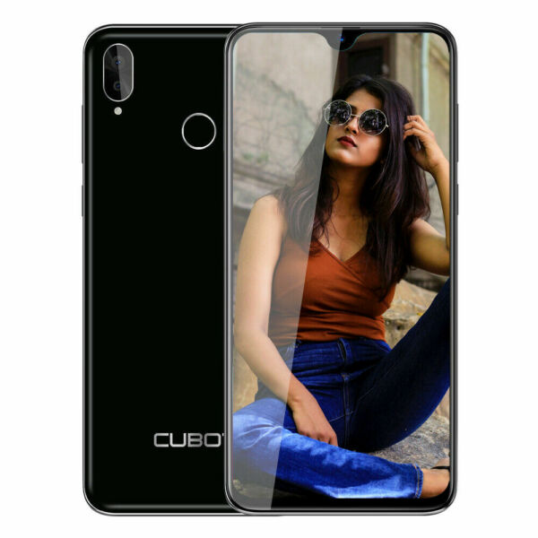 "6.28"" 4G CUBOT R15 PRO Nero 3GB+32GB smartphone Dual SIM Android 9.0 Face ID"
