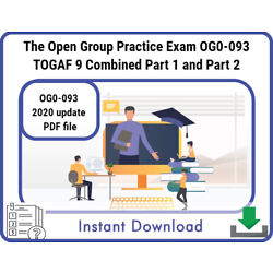 Kyпить The Open Group Practice Exam OG0-093 TOGAF 9 Combined Part 1 and Part 2 2020 pdf на еВаy.соm