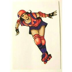 Roller Derby Sticker Decal Collectible Skate Board Phone Laptop Vending