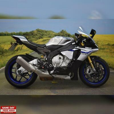 2016 Yamaha R1 M, Service History, All Books & Keys, Gillies Rear Sets