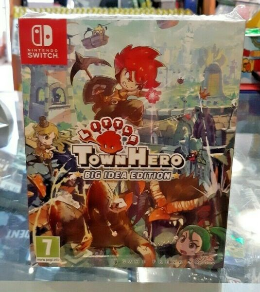 Little Town Hero - Big Idea Edition SWITCH NUOVO SIGILLATO