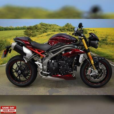 2016 Triumph Speed Triple 1050 R. Service History, One Off Paint Scheme,All Keys