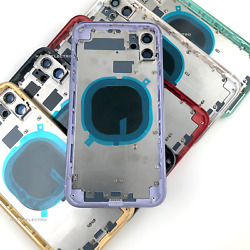 Kyпить Back Housing Battery Glass Rear Cover Frame Replacement for iPhone 11 Pro Max на еВаy.соm