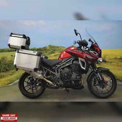 2017 Triumph Tiger 1200 XRT, Service History, Full Luggage, Heated Seats & Grips