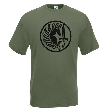 img-T-Shirt J1863 Coat-of-Arms Military Foreign Legion Low Visibility