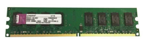 Memoria Ram DDR 2 Kingston 2GB PC2-6400 800Mhz 2Rx8 CL6 KVR800D2N6 / 2G Nuove