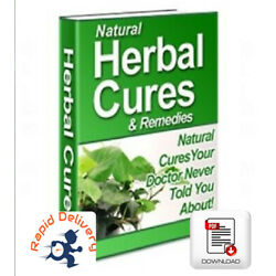 Kyпить Natural Herbal Cures & Remedies, PDF eBook w/Resell Rights + Free Shipping на еВаy.соm