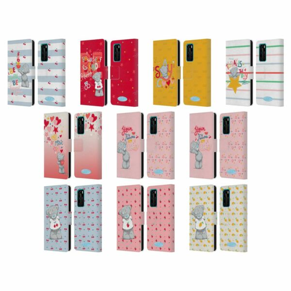 Royaume-UniOFFICIAL ME TO YOU RETRO FUN LEATHER BOOK WALLET CASE COVER FOR HUAWEI PHONES
