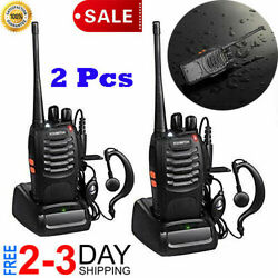 Kyпить Long Range Walkie-Talkie 2 Set 50 Mile Two Way Radio Charge Headset Waterproof на еВаy.соm