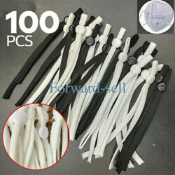 Kyпить 50/100 PCS Sewing Elastic Band Cord with Adjustable Buckle for DIY Mask Sewing на еВаy.соm