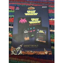 New in Package Space Invaders Gadget Computer Decals Clings