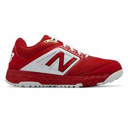 Kyпить New Balance Low-Cut 3000v4 Turf Baseball Mens Shoes Red with White на еВаy.соm
