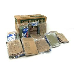 Kyпить 14ct Case SOPAKCO MRE Meals Ready-To-Eat 10/20 INSPECT Reduced Sodium Rations на еВаy.соm