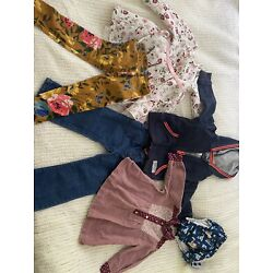 Kyпить Large Lot Of 18-24 Months Baby Girls Clothes Fall Winter Toddler 7 Pcs CUTE на еВаy.соm