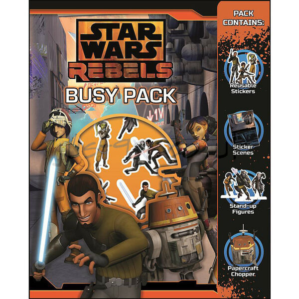 Royaume-UniStar Wars Rebels Busy Paquet