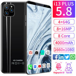 Kyпить Unlocked i13  Smart Phone 5.8'' Android 9.1 HD Full Screen Cellphone Hot на еВаy.соm