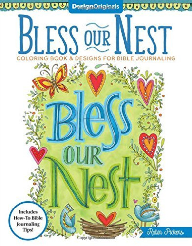 Royaume-UniPICKENS,ROBIN-BLESS OUR NEST COLORING BOOK BOOK NEUF