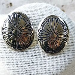 Kyпить Southwestern Sterling Silver Earrings BOHO Made in USA на еВаy.соm