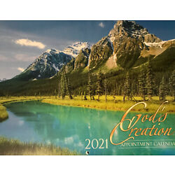 Kyпить 2021 GOD'S CREATION Appointment Wall Calendar 9