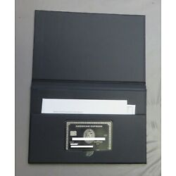Kyпить Authentic American Express Amex Centurion Black Card with Case (expired) на еВаy.соm