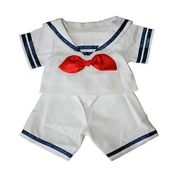 Sailor Boy w/Hat Outfit Teddy Bear Clothes Fits Most 14'' - 18'' Build-A-Bear and