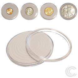 Kyпить 50 x Coin Holder Capsules for All US Coins 46mm Diameter *SHIPS FREE USA* на еВаy.соm