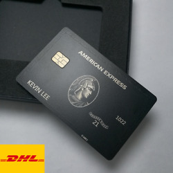 Kyпить 2021 American Express Customize Your Own Black Metal Card Centurion Personalised на еВаy.соm