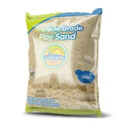 Classic Sand and Play Sand for Sandbox, Table, Therapy, and Outdoor Use, 20 lb.