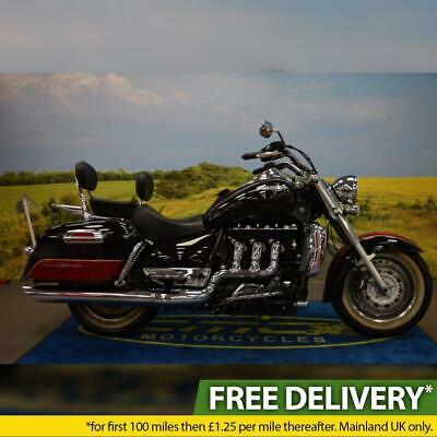 2013 Triumph Rocket 111 Touring, All Books, Service History,Panniers,White Walls