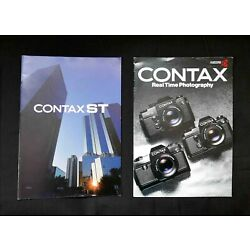 Kyпить Contax ST and RTS Camera Brochures на еВаy.соm